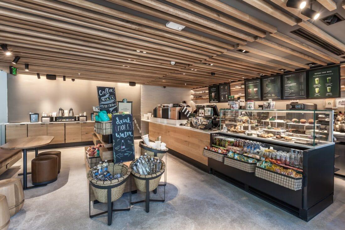 Sixty80 Design Hotel Starbucks