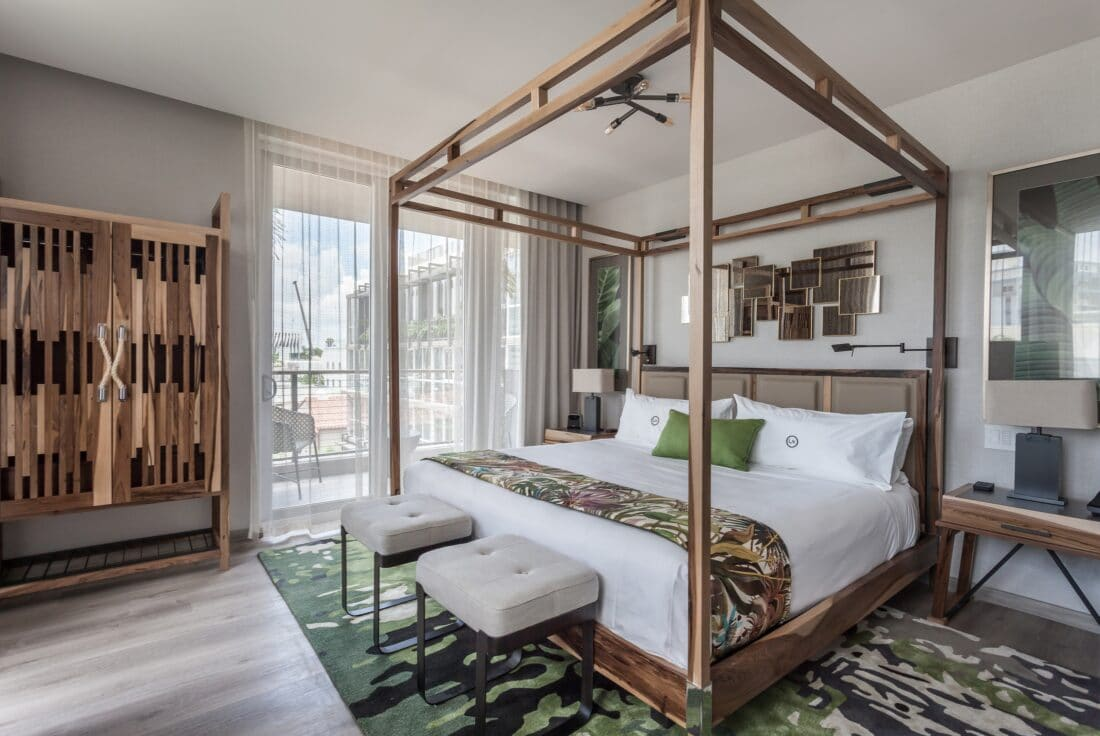 Lennox Hotel Bedroom